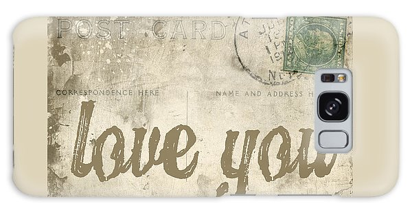 Vintage Love Letters Galaxy Case