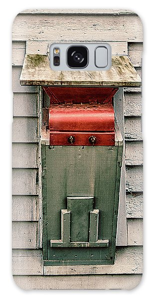 Galaxy Case featuring the photograph Vintage Mailbox by Gary Slawsky