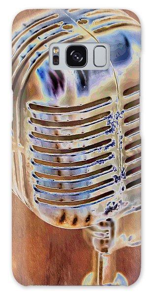 Vintage Microphone Galaxy Case
