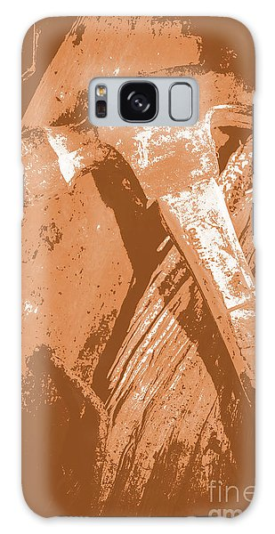 Stone Wall Galaxy Case - Vintage Miners Hammer Artwork by Jorgo Photography - Wall Art Gallery