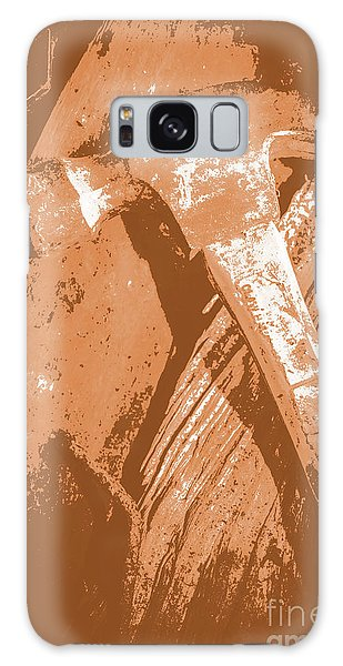 Industry Galaxy Case - Vintage Miners Hammer Artwork by Jorgo Photography - Wall Art Gallery