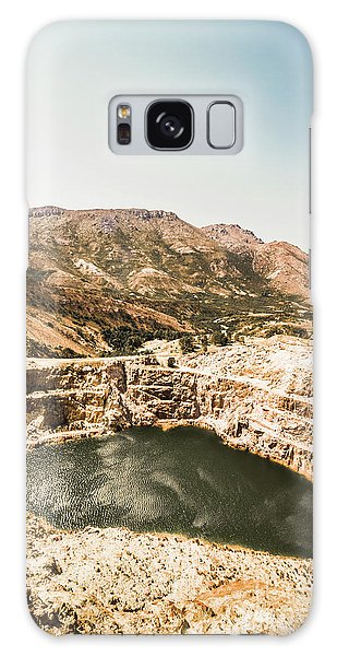 Industry Galaxy Case - Vintage Mining Pit by Jorgo Photography - Wall Art Gallery