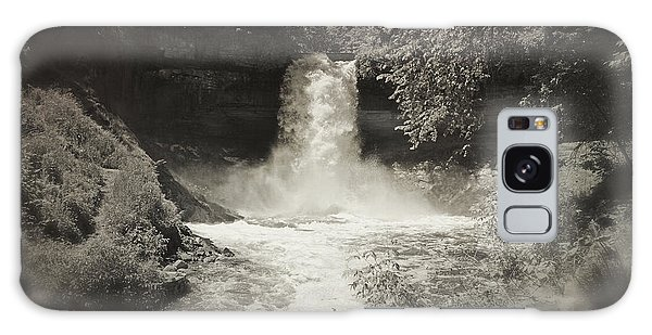 Vintage Minnehaha Falls V2 Galaxy Case