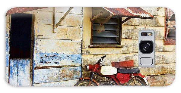 Vintage Motorbike Galaxy Case