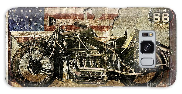 66 Galaxy Case - Vintage Motorcycle Unbound by Mindy Sommers