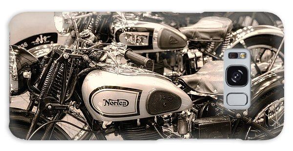 Vintage Motorcycles Galaxy Case
