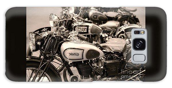 Vintage Motorcycles Galaxy Case by Ari Salmela