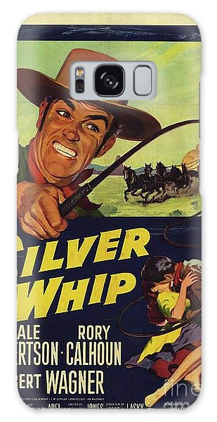 Whip Galaxy Case - Vintage Movie Posters, The Silver Whip by Esoterica Art Agency