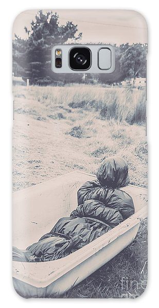 Outdoors Galaxy Case - Vintage Murders by Jorgo Photography - Wall Art Gallery