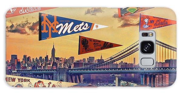 Vintage New York Mets Galaxy Case by Steven Parker
