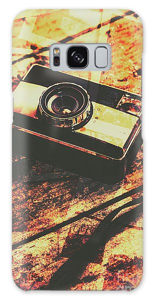Camera Galaxy Case - Vintage Old-fashioned Film Camera by Jorgo Photography - Wall Art Gallery