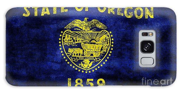 Vintage Oregon Flag Galaxy Case