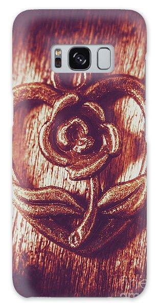 Pendant Galaxy Case - Vintage Ornamental Rose by Jorgo Photography - Wall Art Gallery