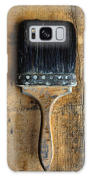 Vintage Paint Brush Galaxy Case