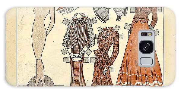 Paper Dress Galaxy Case - Vintage Paper Doll by Delphimages Photo Creations