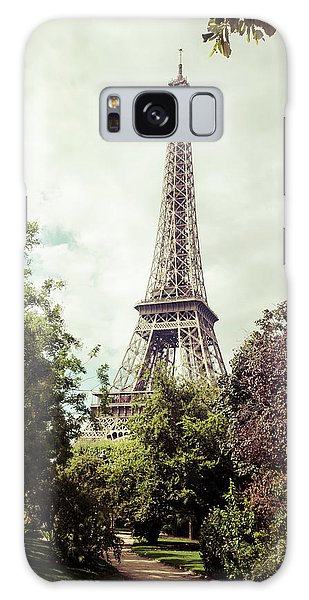 Vintage Paris Galaxy Case