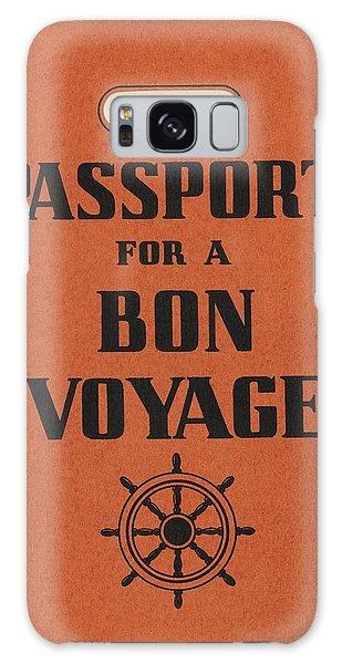 Travel Galaxy Case - Vintage Passport by Gillham Studios