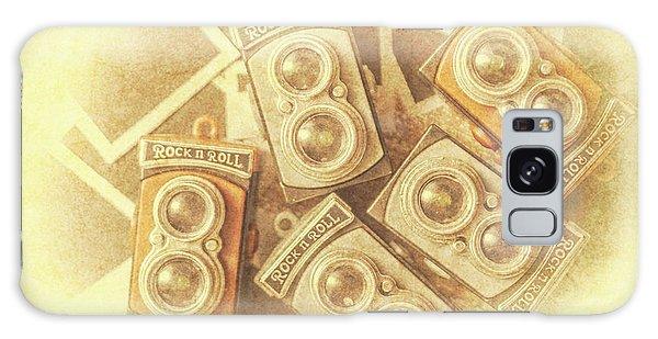 Camera Galaxy Case - Vintage Photographer Film Art by Jorgo Photography - Wall Art Gallery