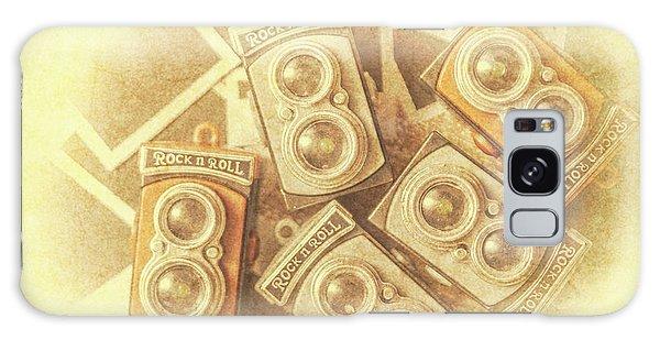 Vintage Camera Galaxy Case - Vintage Photographer Film Art by Jorgo Photography - Wall Art Gallery