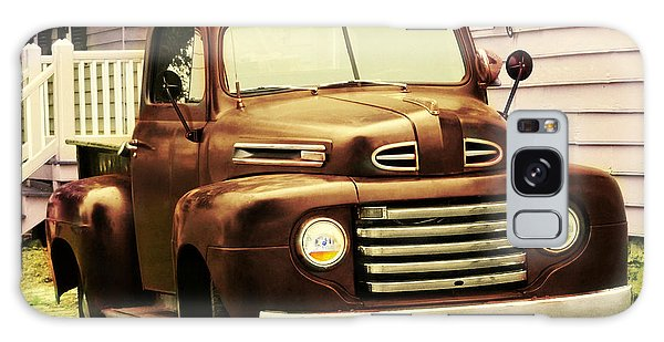 Vintage Pick Up Truck Galaxy Case