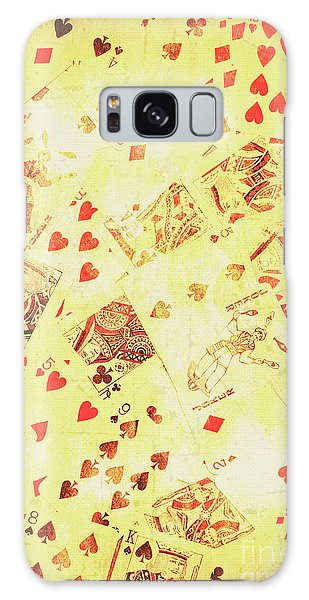 Gamble Galaxy Case - Vintage Poker Background by Jorgo Photography - Wall Art Gallery