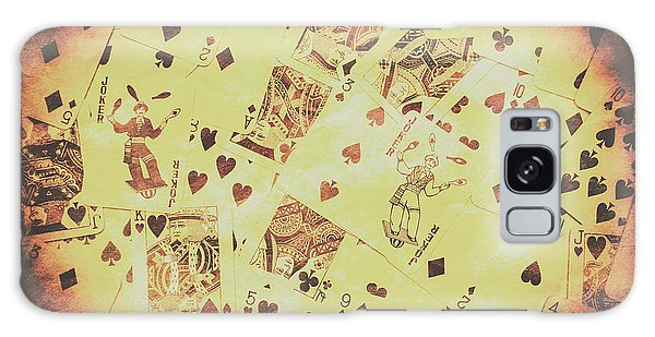 Gamble Galaxy Case - Vintage Poker Card Background by Jorgo Photography - Wall Art Gallery