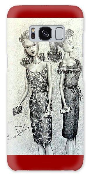 Vintage Ponytail Barbie Galaxy Case