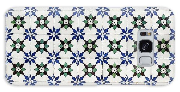 Vintage Portuguese Tiles Galaxy Case