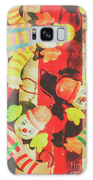 Vintage Pull String Puppets Galaxy Case by Jorgo Photography - Wall Art Gallery