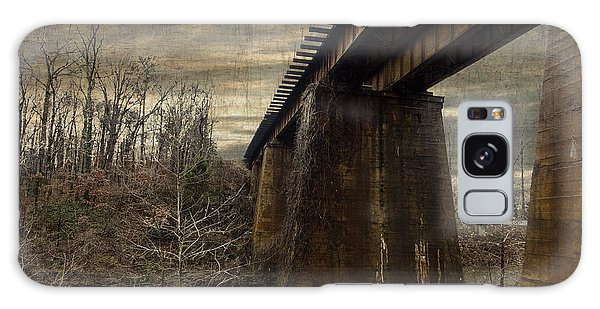 Vintage Railroad Trestle Galaxy Case