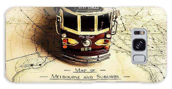 Victoria Galaxy Case - Vintage Railways And Tramways by Jorgo Photography - Wall Art Gallery