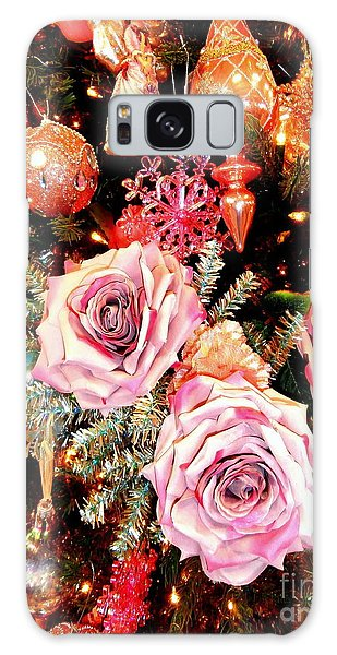 Vintage Rose Holiday Decorations Galaxy Case