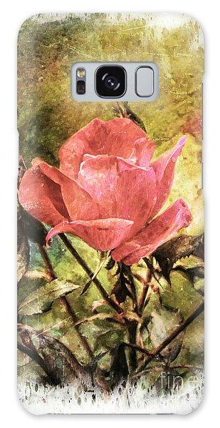 Vintage Rose Galaxy Case by Tina  LeCour