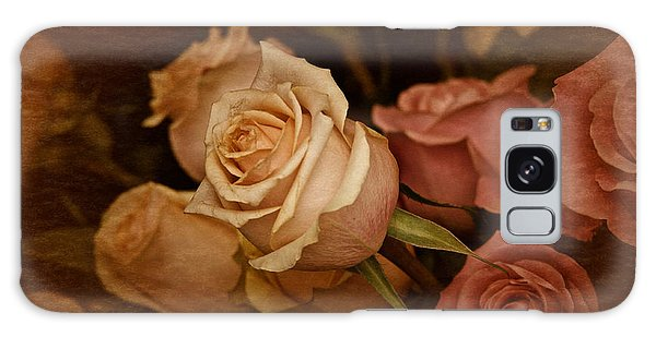Vintage Roses March 2017 Galaxy Case by Richard Cummings