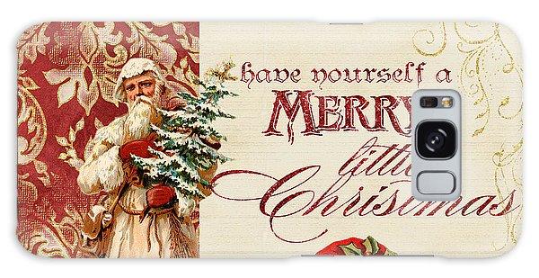 Vintage Santa Claus - Glittering Christmas Galaxy Case