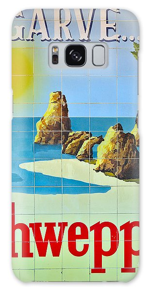 Vintage Schweppes Algarve Mosaic Galaxy Case by Angelo DeVal