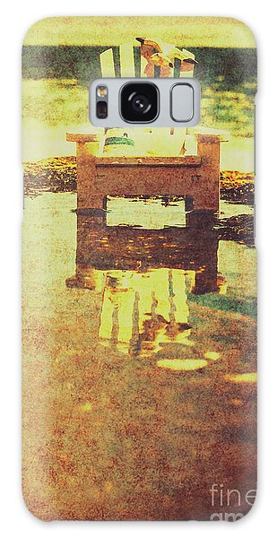 Tides Galaxy Case - Vintage Seaside Vacationing by Jorgo Photography - Wall Art Gallery