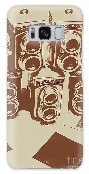 Camera Galaxy Case - Vintage Snapshots And Old Cameras by Jorgo Photography - Wall Art Gallery