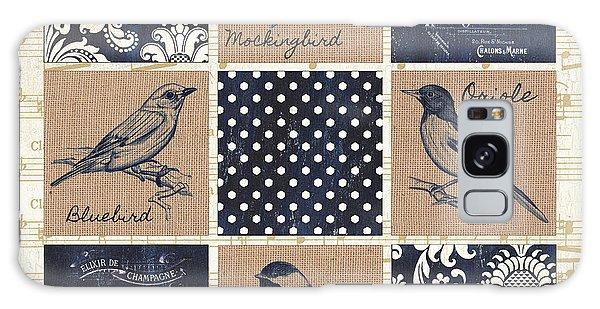 Song Bird Galaxy Case - Vintage Songbird Patch 2 by Debbie DeWitt