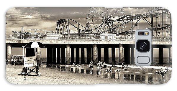 Vintage Steel Pier Galaxy Case by John Rizzuto
