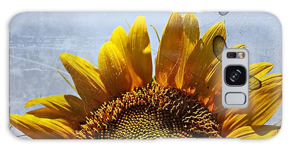 Vintage Sunflower- Fine Art Galaxy Case