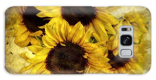 Vintage Sunflowers Galaxy Case