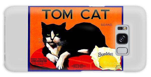 Vintage Sunkist Tom Cat Galaxy Case