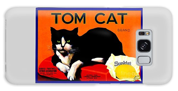 Vintage Sunkist Tom Cat Galaxy Case