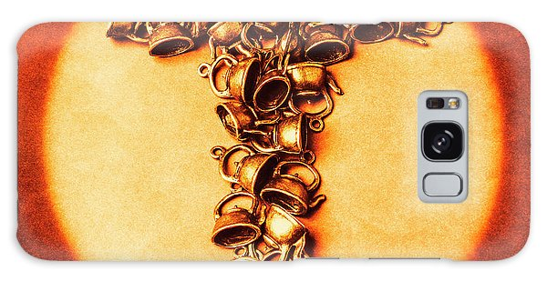 Cafe Galaxy Case - Vintage Tea Shop Sign by Jorgo Photography - Wall Art Gallery