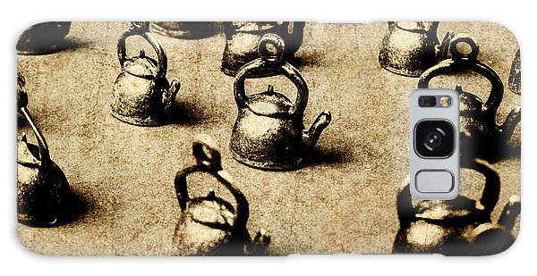 Cafe Galaxy Case - Vintage Teapot Party by Jorgo Photography - Wall Art Gallery