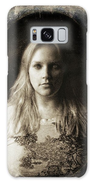 Vintage Tintype Ir Self-portrait Galaxy Case