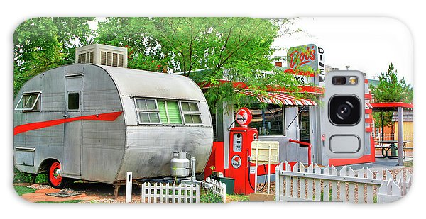 Vintage Trailer And Diner In Bisbee Arizona Galaxy Case