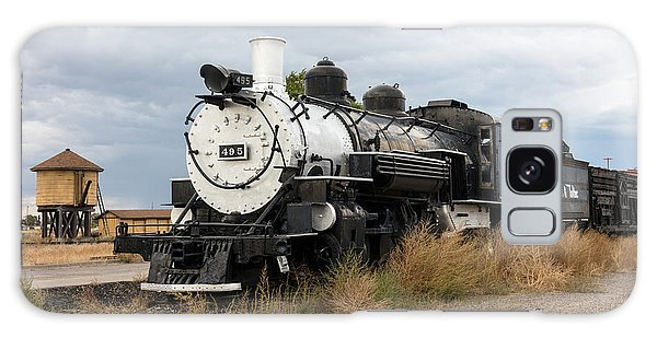Vintage Train At A Scenic Railroad Station In Antonito In Colorado Galaxy Case by Carol M Highsmith