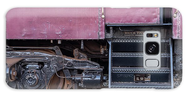 Vintage Train Car Steps Galaxy Case by Terry DeLuco